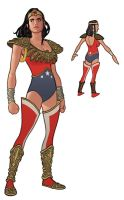 Wonder Woman Redesign by quin-ones