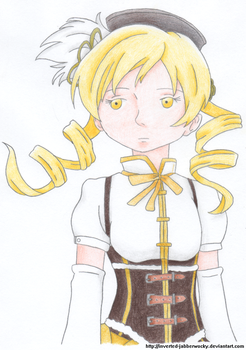 Tomoe Mami by Inverted-Jabberwocky