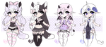 +Chibi Mix Adoptables 31 :: CLOSED :: + by Hunibi