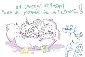 La journee de la flemme by jypdesign