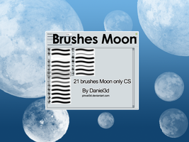 Brushes Moon by pincel3d