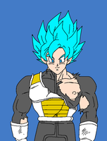 Goku out of the HBTC by JordanMcFighter