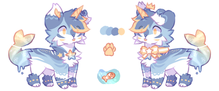 + Ocean Lord (Auction Closed) + by MellowKun