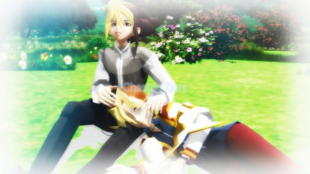 MMD Chasing Cars///IVxSawatari +video link by TwoSidedMMD