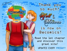 Hell and Heaven on Becomics by Raygirl13