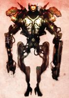 Speed painted droid mecha 22 by torvenius