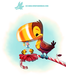 Daily Paint 1294. Toucandy by Cryptid-Creations