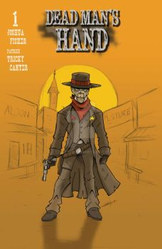 Dead Mans Hand Issue 1 Cover by Tricky22