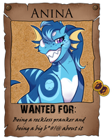 Wanted - Anina by Feligriffin