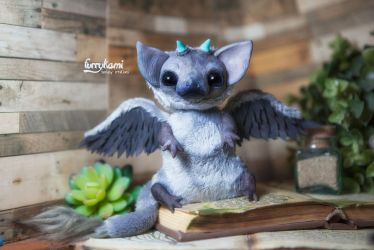 Trico the last guardian art doll by Furrykami-creatures