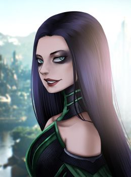 hela by gin-1994