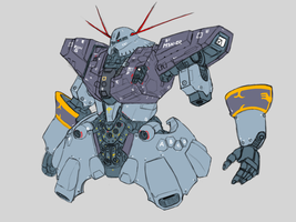 MSN-02 Zeong ver PT by Norsehound