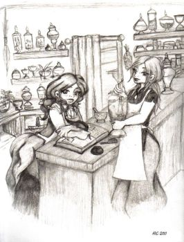 Apohtecary Shop by BlackMageChan