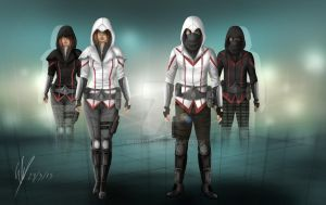 Assassin's Creed Modern RE Design by bro0017