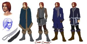 Model Sheet: Corbie by LoreliAoD