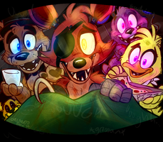 Good Night at Freddy's by TheDoggyGal