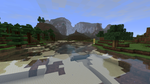 Minecraft mountains by newdeal666