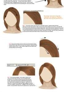 How to draw hair... by Rising-Stars