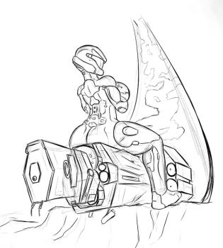 Giantess Draw - Spartan Test #1 by Colonel-Gabbo
