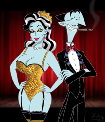 The magician and his assistant by VampiraLady