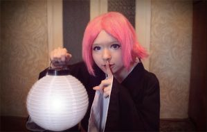 Yachiru Bleach cosplay by Push-sama
