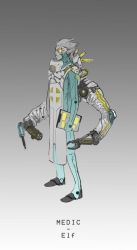 Character Design for a Sci-Fi boardgame - Medic by DrManhattan-VA