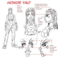 Honor Yao Model Pack by artoftheimmortal