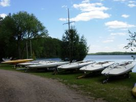 741 - boats by WolfC-Stock
