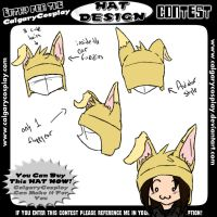 Hat Design: Puppy Ears by Count-Von-Sammitchy