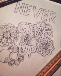 Never give up Wip  by Eveint