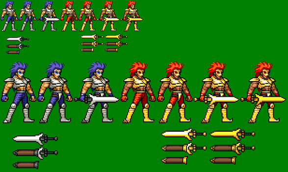King Lion-King Leo JUS Sprite by sebastito