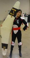 My Sango Cosplay by inustwin6789