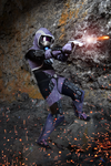 Tali'Zorah Vas Normandy by IceDragonCosplay