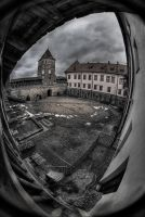 The ghost of Mirsky castle by Nikkoris