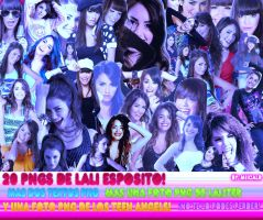 50 PNGS de Lali Esposito y MAS: - Leer descripcion by MiicaLR