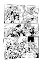 Conan vs Red Sonja inks 3 by Fendiin
