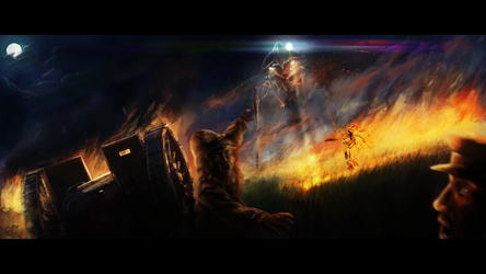 The Battle of Horsell Common by Capestranus