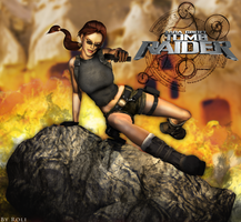 Tomb Raider - The Angel of Darkness render by Roli29