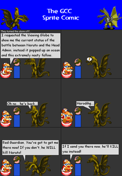 The GCC Sprite Comic 328 Deadly Teleportation by Godzilla90sTK