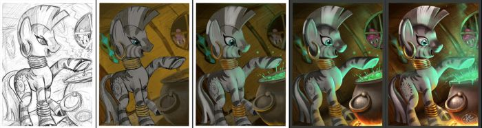 Zecora WIP by 14-bis