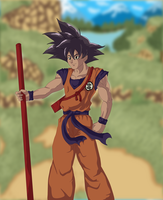 Son Goku. by Johnni-Kun