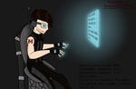 Cyberpunk Markiplier by RoseandherThorns