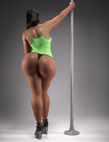 Studio 3. Pole Dance by ramiras21