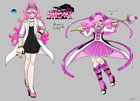 Magical Girl School for Boys - Momma Victoria by SoloAzume