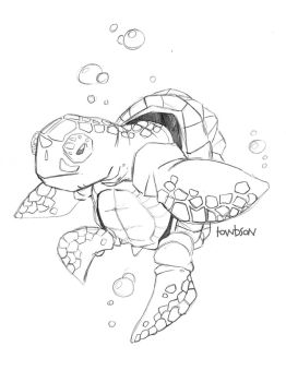 SeaTurtle by towbson