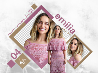 Png Pack 3408 - Emilia Clarke by southsidepngs