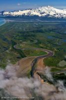 Cook Inlet View by MSimpsonPhotos