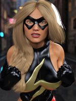 Ms Marvel pose 06 by DahriAlGhul