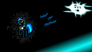 Wolf Of Sadness wallpaper by Djbrony923