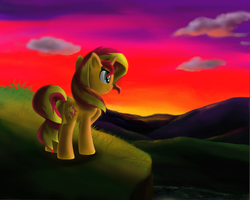 Sunset Shimmer by MarcyLin1023